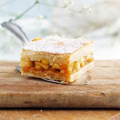Jabłecznik z ciastem półfrancuskim