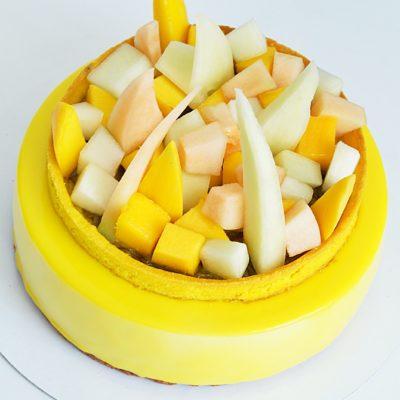 Entremet z bananami