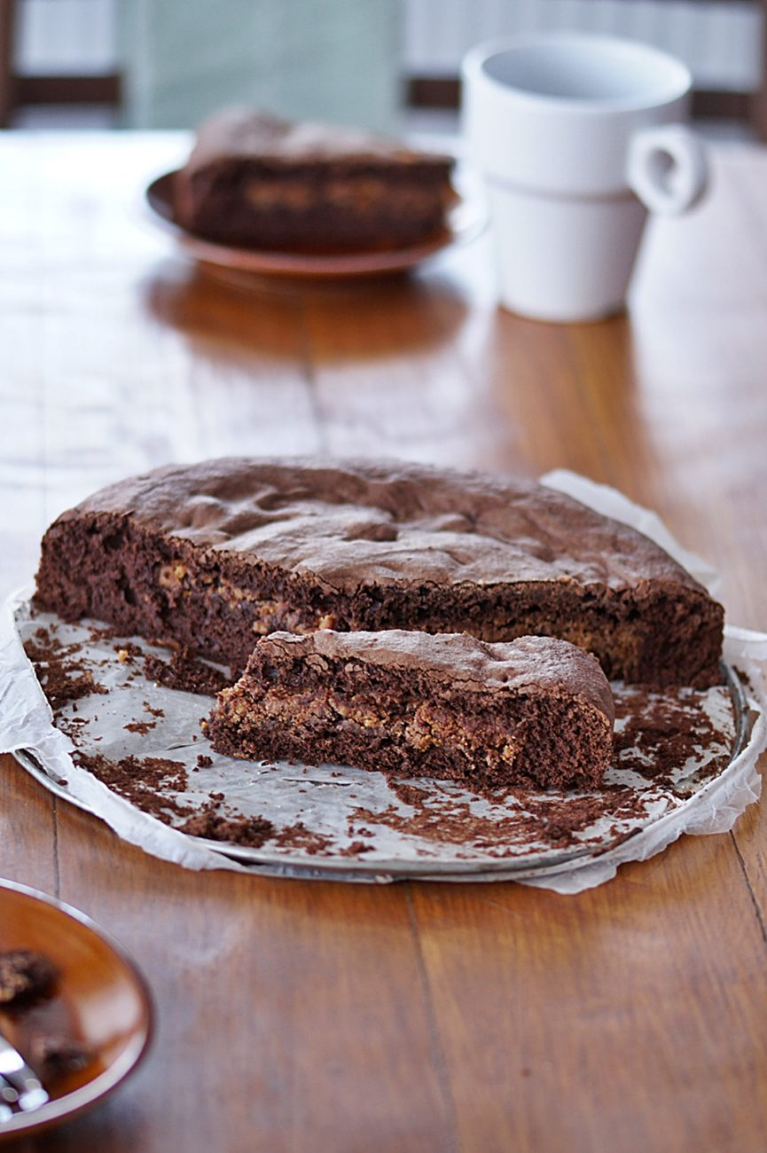 Piernikowe brownie