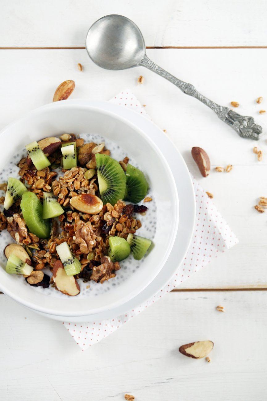 Kokosowo-orzechowe śniadanie