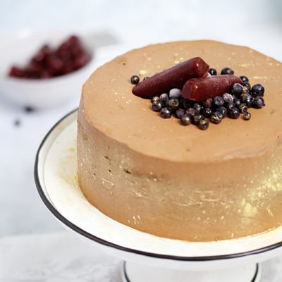 Wiśniowy tort dla dorosłych