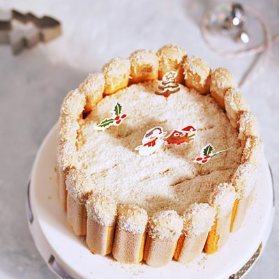 Swiateczny tort piernikowy