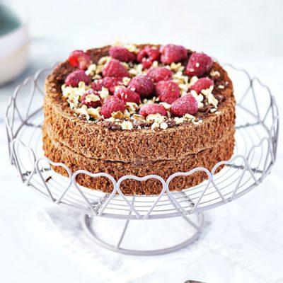 Orzechowy tort bez mąki