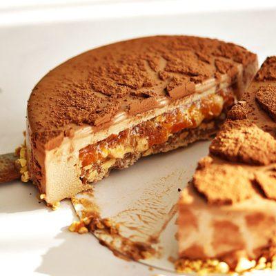Tort musowy peanut butter