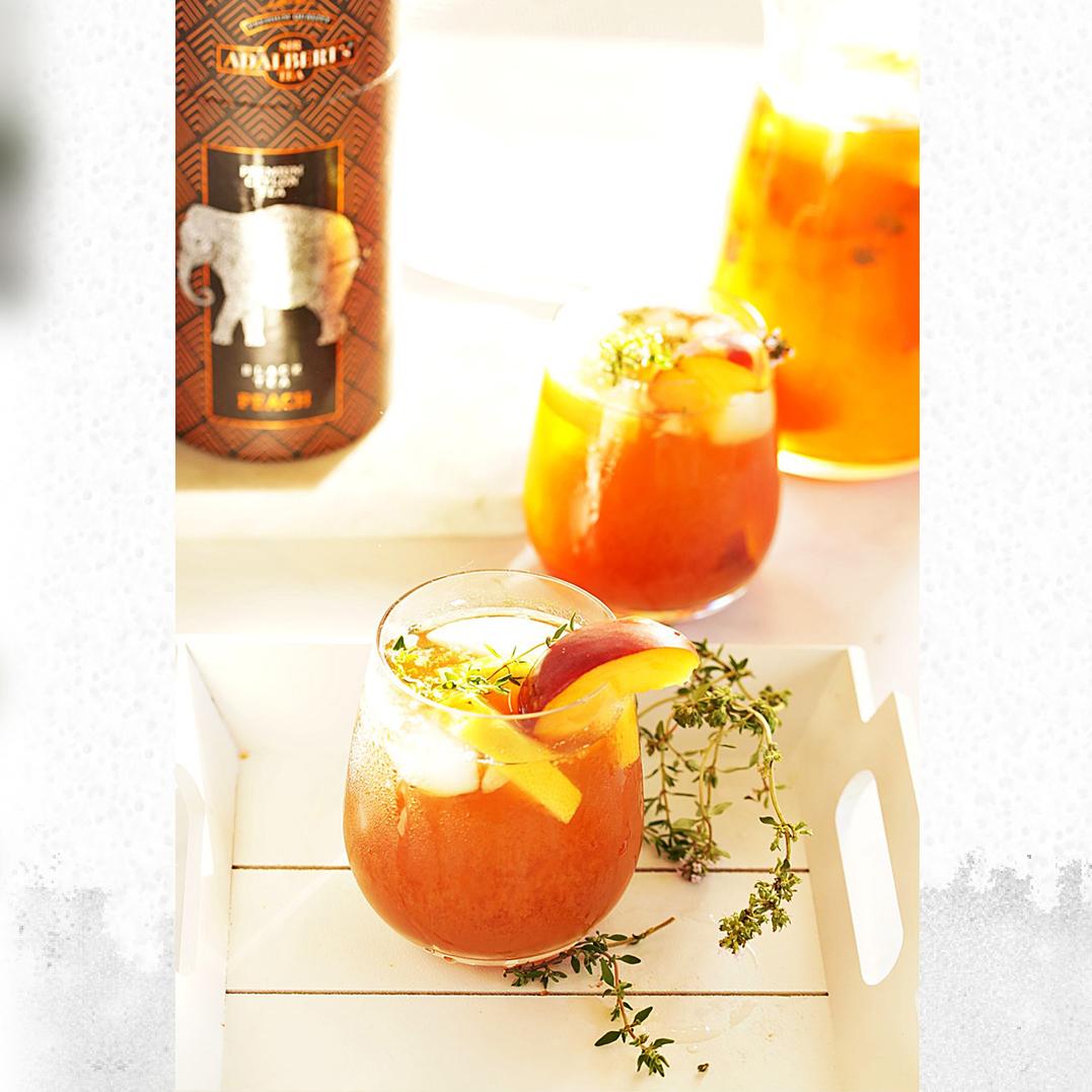 Herbata mrożona brzoskwiniowo-tymiankowa
